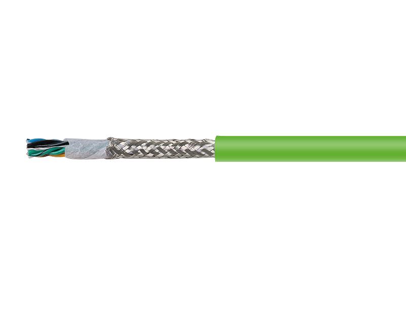 500万次TRVVSP双绞带屏蔽动力、信号、控制拖链电缆线
